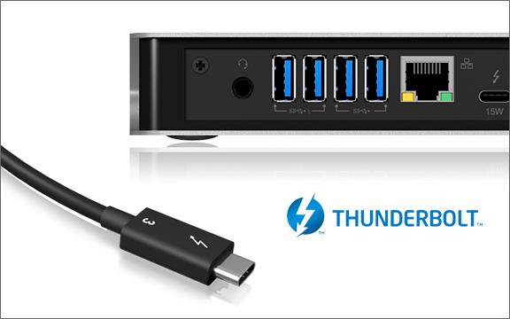 Thunderbolt™ 3 Type-C™