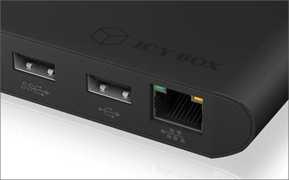 Display, Gigabit Ethernet & USB expansion