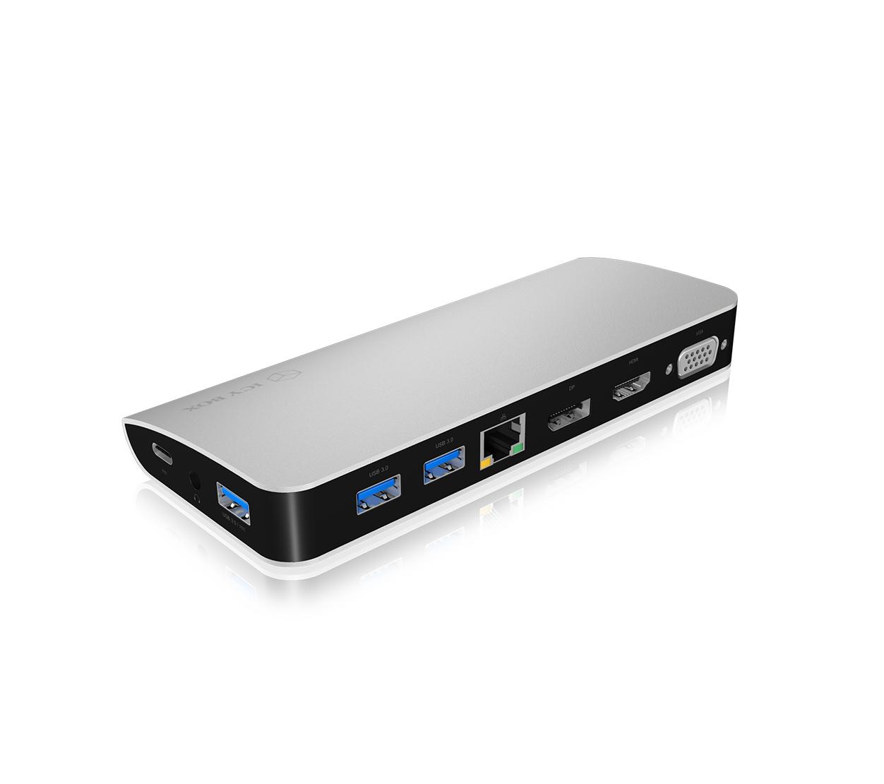USB Type-C® DockingStation mit dreifacher Videoausgabe