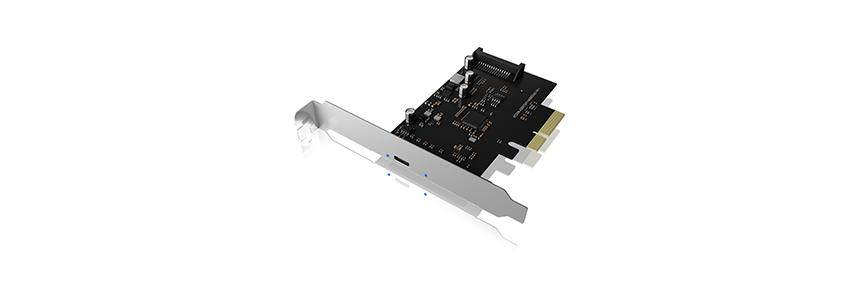 USB Type-C® PCIe Controller Karte USB 3.2 (Gen 2x2) PCIe Controller Karte